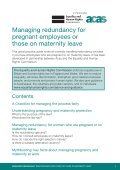 Managing redundancy for pregnant employees or those on ... - Page 3