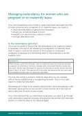 Managing redundancy for pregnant employees or those on ... - Page 7