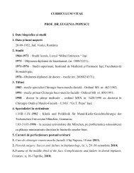 cv eugenia popescu - Gr.T. Popa