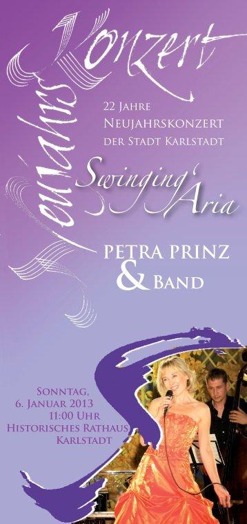 PETRA PRINZ Band & SwingingÊ» Aria - Karlstadt