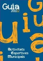 Guia Esportiva Munipal 2011-2012 - Ajuntament de Vila-real