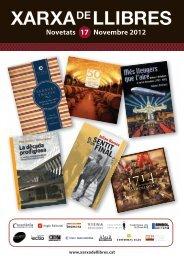 Novembre 2012 Novetats 17 EL SENTIT - Xarxa de Llibres