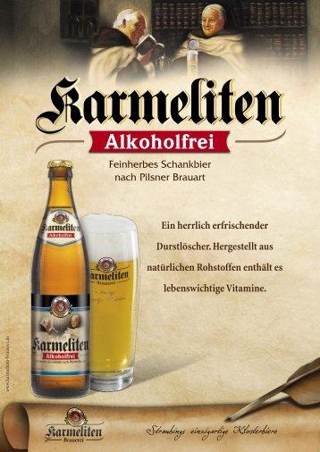 Alkoholfrei - Karmeliten Brauerei Straubing