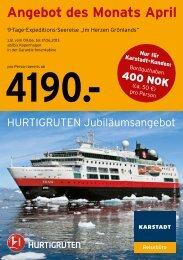 finden Sie den Flyer als PDF - Angebot des Monats - Karstadt Reisen