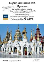 Karstadt Gießen-Myanmar_2013.qxp - Karstadt Reisen