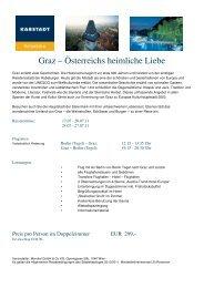 Karstadt Graz Neu 160311 - Karstadt Reisen