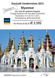 Karstadt Gie.en-Myanmar_2013_neu.qxp - Karstadt Reisen