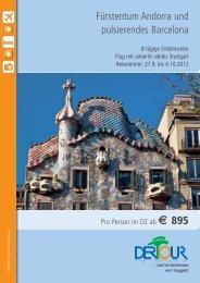 Karstadt Esslingen - Andorra_Barcelona_2012.qxp - Karstadt Reisen