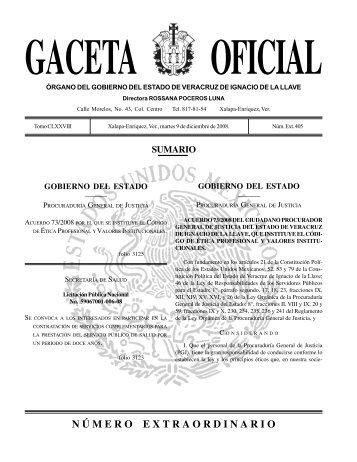 Acuerdo 73/2008, que instituye el Código de Ética Profesional y ...