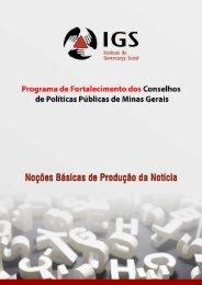 Cartilha noções de jornalismo final - Portal Conselhos MG