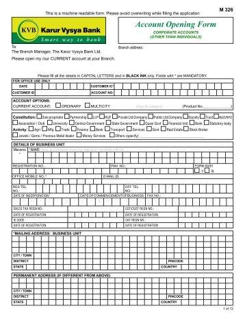 karur vysya bank deposit form Can you download on site ... on