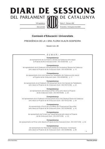 07 Intervenció 1 dels compareixents en la Comissió