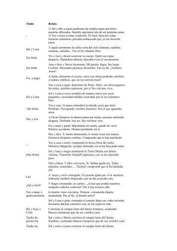 Todos los microrrelatos 2011