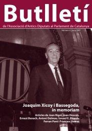 Número 6. Juny 2007 - Parlament de Catalunya