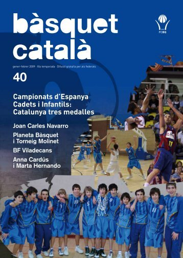 número 40 - Federació Catalana de Basquetbol