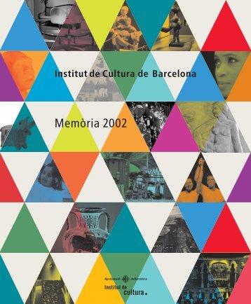 Memòria 2002 - Ajuntament de Barcelona
