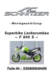Montageanleitung - AC Schnitzer