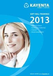 Seminar-Katalog 2013 hier downloaden (PDF, 1 MB) - Kayenta ...
