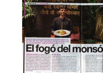 Ninqú no sap quants restaurants indis hi ha a Barcelona -9?, 8?, 15 ...