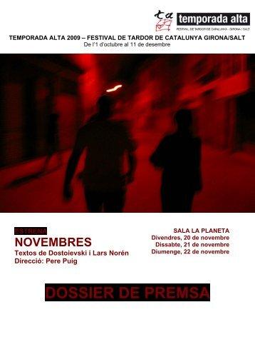 DOSSIER DE PREMSA - El Punt/Avui