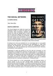 La xarxa social - Cinescola