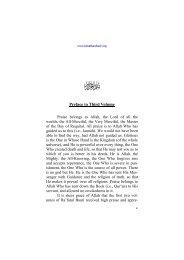Preface to Third Volume