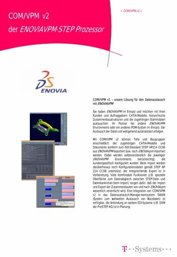 der ENOVIAVPM-STEP Prozessor - ACTAS Gmbh