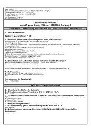 (EG) Nr. 1907/2006, Anhang II Kebutyl-Voranstrich K III