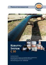 Kebutyl- System C 30