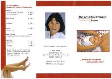 Kosmetikstudio - Kelheim
