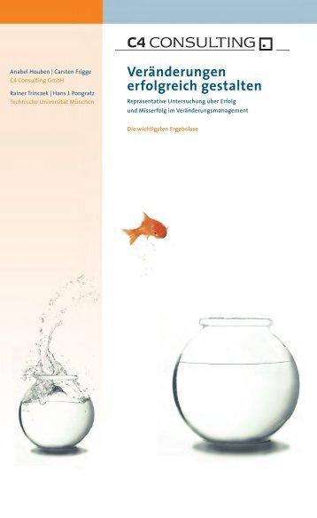 Veränderungen erfolgreich gestalten - Bertelsmann Stiftung