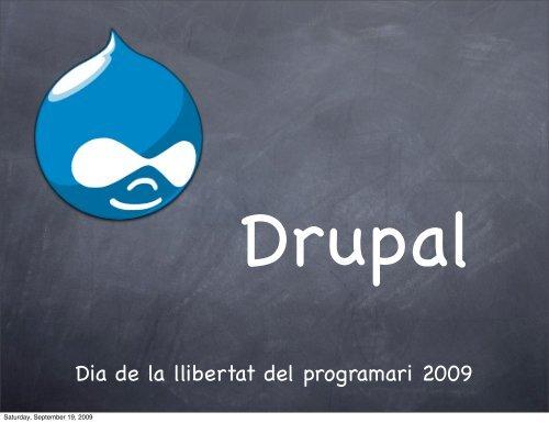 Dia de la llibertat del programari 2009 - Robert Garrigós Castro