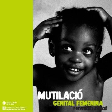mutilacio - Generalitat de Catalunya