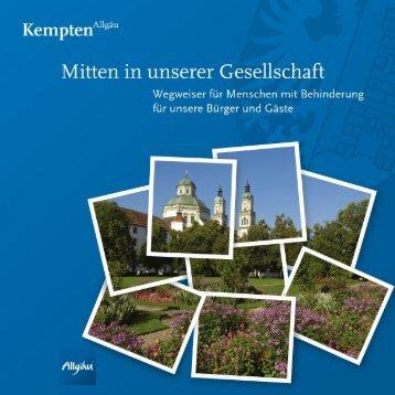 Download Wegweiser (PDF-Datei, ca. 21681,30 KB) - Stadt Kempten