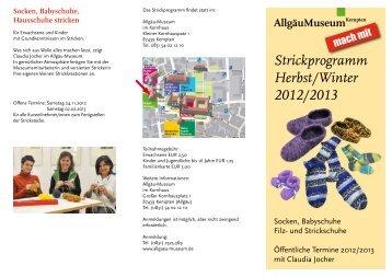 Strickprogramm Herbst/Winter 2012/2013
