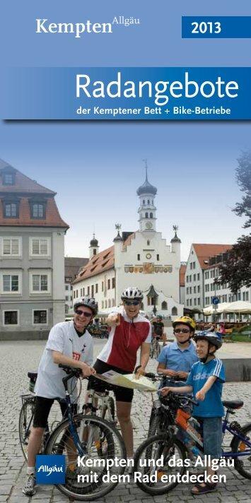 unsere neuen Radpauschalen! - Hotels in Kempten