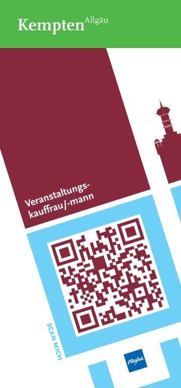 Veranstaltungs- kauffrau/-mann - Stadt Kempten