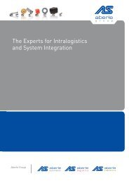 The Experts for Intralogistics and System ... - Aberle Automation
