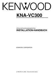KNA-VC300 - Kenwood
