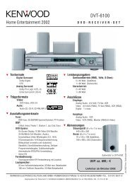 DVT-6100 - Kenwood
