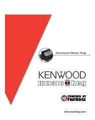 KHD-C710 MusicKeg Manual German - Kenwood