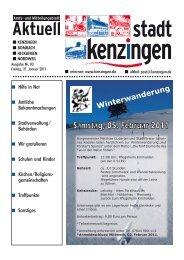 Ausgabe 03 2011 - Kenzingen