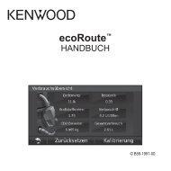 ecoRoute™ - Kenwood