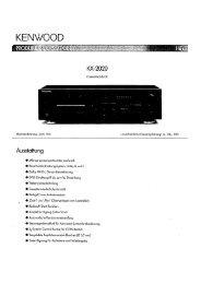 KX-2020 - Kenwood