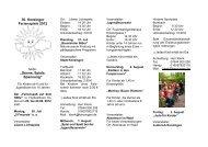 """30. Kenzinger Ferienspiele 2012 """"Sonne, Spiele ... - Kenzingen"""