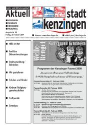 Ausgabe 08 2009 - Kenzingen
