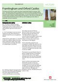 HISTORY Framlingham and Orford Castles - Page 2