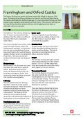 HISTORY Framlingham and Orford Castles - Page 7