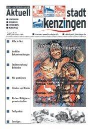 Ausgabe 05 2013 - Kenzingen