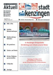 Ausgabe 12 2013 - Kenzingen